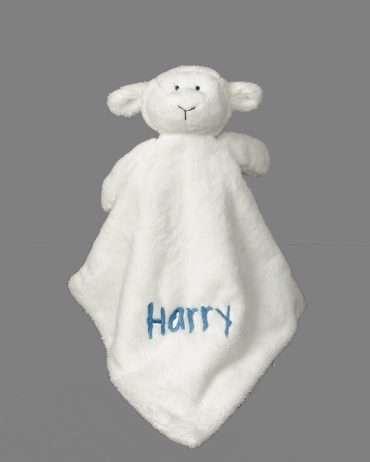 Little Lamb Comfort Blanket Personalised gifts ireland