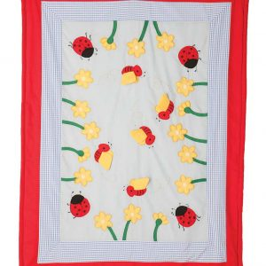 buzzy bees cot quilt