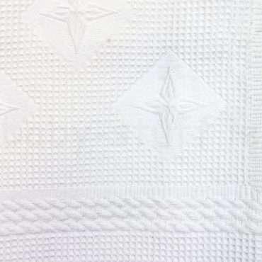 Cotton On Personalised White Christening Shawl