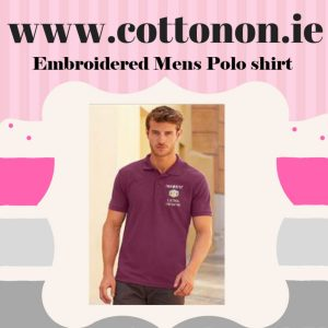 Cotton On Embroidery Custom Logos on Garments Online Delivered embroidered company logos corporate wear A Personalised Polo Shirt by Cotton On