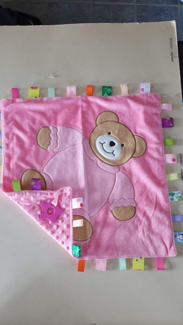 Cotton On personlaised baby gifts ireland taggie large Teddy comforter blankie shop in Ireland personalised gifts